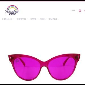 Rainbow optics sunnies new